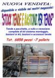Stock tende e bastoni per tende 6858pz